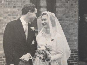 David Wilcken and his bride Bridget.