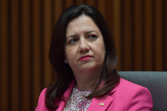 Premier Annastacia Palaszczuk tells residents of Greater Sydney not to come north.