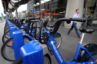 The Melbourne Bike Share scheme was axed in August.