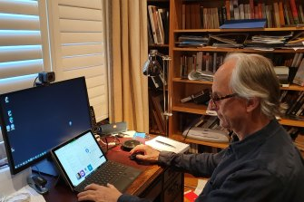 Tony Forward is a senior information technologist and on Telstra's 100/40Mbps internet plan.