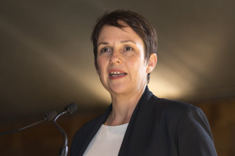 Small Business Minister Jaala Pulford.
