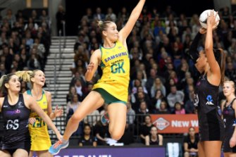 Courtney Bruce filled some Sharni Layton-sized shoes when she got the Diamonds call-up last year.