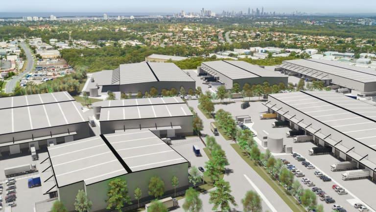 Logos'22 hectare Gold Coast logistics hub.