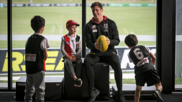 After a difficult season in 2018, Steele's St Kilda have had a brighter start in 2019.