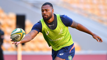 Samu Kerevi was happy at outside centre, but says the switch to inside centre was the right move.