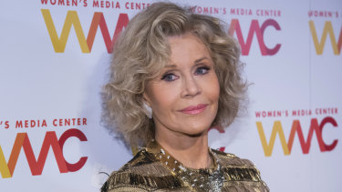 Jane Fonda is featured in Feminists: What Were They Thinking on Netflix.