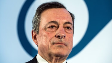Mario Draghi is expected to announce a new unconventional stimulus program for the eurozone after his final meeting as European Central Bank president.