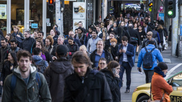 The council wants to ease the pedestrian crowd crush in the CBD.