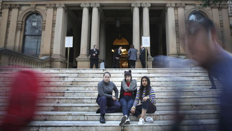 The trio contributed to an interactive map created by Plan International, marking more than 2600 locations of incidents of harassment across Sydney.