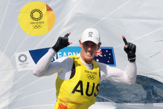 Matt Wearn has won gold.