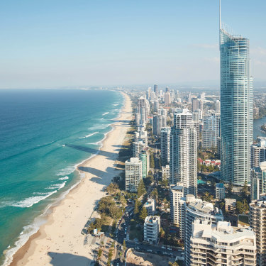 """Sallyanne Atkinson: """"One of the odd things about growing up on the Gold Coast is it must be one of the few places in the world that bears no resemblance at all to what it once was."""""""