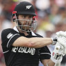 Kiwis 5-211 in Cricket World Cup semi-final before rain delay