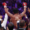 Pacquiao's win would be the ideal farewell to a storied career