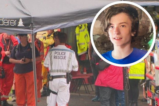 Emergency personnel and more than 150 volunteers have joined a search for Leif Courtney, 13, who is missing on the Central Coast.