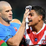 Cracks opening in relationship between Latrell Mitchell and Roosters