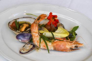 Seafood salad at Gimlet