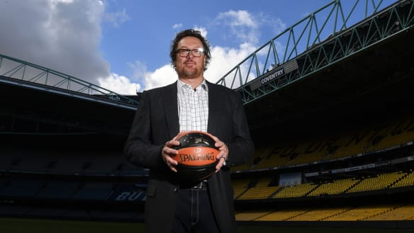 Luc Longley thinks sound could trump sight when Boomers take on USA
