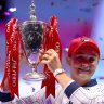 Barty hits the sweet spot with victory in season-ending WTA Finals