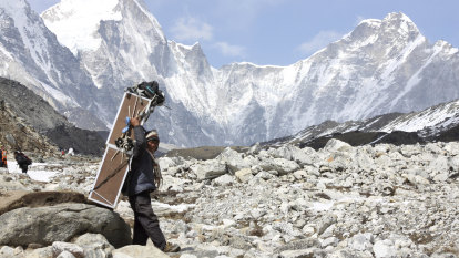 Coronavirus reaches Everest base camp, the 'perfect setup for a superspreader event'