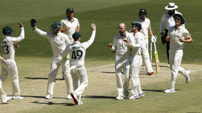 Australia vs New Zealand first Test day four as it happened in Perth