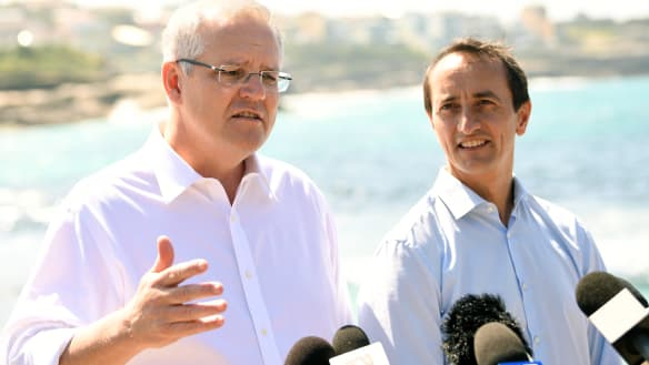 PM says Dave Sharma 'the best candidate' for Wentworth