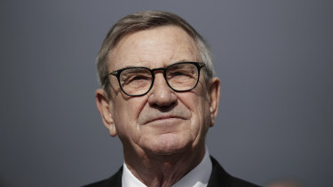 Huawei Australia chairman John Lord.