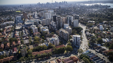 Bondi Junction has suffered from poor planning and overdevelopment, according to some residents.