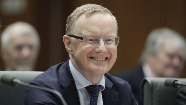 RBA governor Philip Lowe has urged governments and business to use low interest rates to invest in productivity-enhancing projects, including those dealing with climate change.