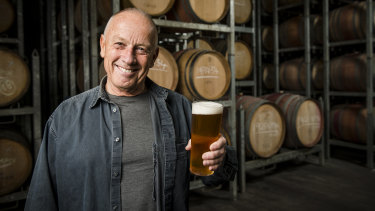 Phil Sexton is brewing new and old beers for Matilda Bay again, 35 years after starting the brand in Fremantle.