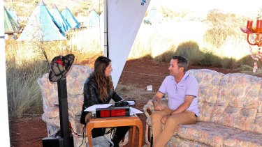 Spirit Radio's Angie Ayers chats to Premier mark McGowan.