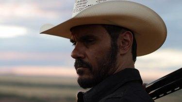 Aaron Pedersen stars as Detective Jay Swan in the film Mystery Road.
