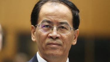 Chinese Ambassador to Australia, Cheng Jingye.