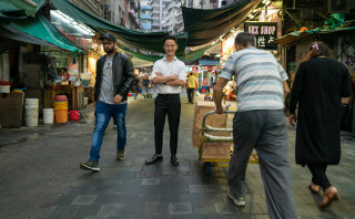 Benjamin Law in Waltzing With The Dragon.