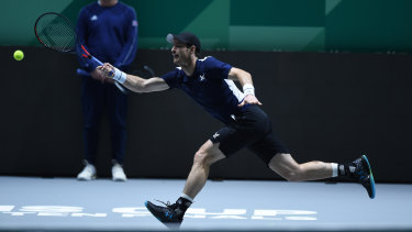 Former world No.1 Andy Murray prepares for the new-look Davis Cup in Madrid.