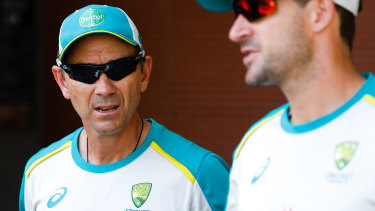 Justin Langer has been at the helm for just over three years.