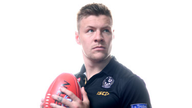 Jordan De Goey wants to stay at Collingwood.