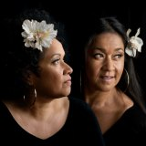 Vika and Linda Bull were popular inductees into Music Victoria's Hall of Fame.