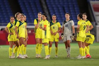 The Matildas have come up short against Sweden.