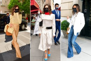 """Victoria Beckham: """"We all expect our clothes to do a lot more now. It doesn't feel right endlessly shopping."""""""