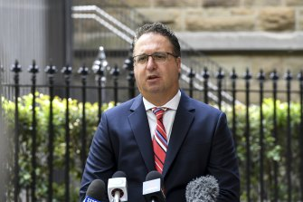 Victorian Chamber of Commerce and Industry chief executive Paul Guerra expressed hope for the future.