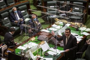 Question time was a subdued affair as Matthew Guy tried to convince Victorians he has changed.