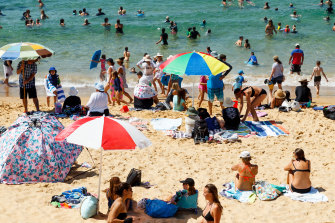 Beaches will likely be in demand this summer with the Bureau of Meteorology saying odds favour a warmer than average summer for almost all of Australia.