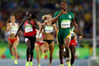Caster Semenya's chances of defending her Rio 800m gold are all but over.