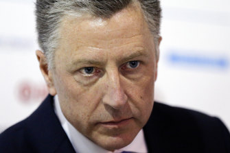 Former special envoy Kurt Volker was the first witness in the impeachment inquiry.