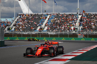 Charles Leclerc took his sixth pole of 2019 with a blistering lap of the Sochi Autodrom on Saturday.