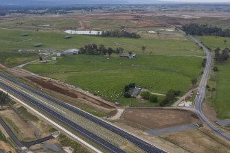 The federal government bought 12 hectares of land dubbed the Leppington Triangle for $32.8 million in 2018.