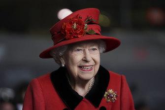 Queen Elizabeth II last month.