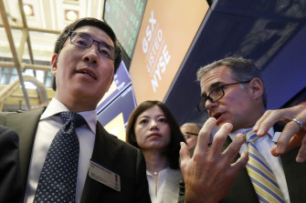 Gaotu's Larry Chen lost $US15 billion of paper wealth as shares in the US-listed company plunged nearly 80 per cent.