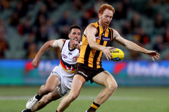 Hawthorn's Conor Glass is heading back to Ireland.