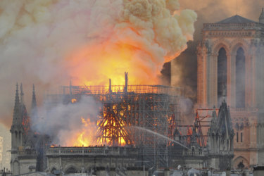 Billionaires raced to pledge money to rebuild Notre-Dame. Then came the backlash